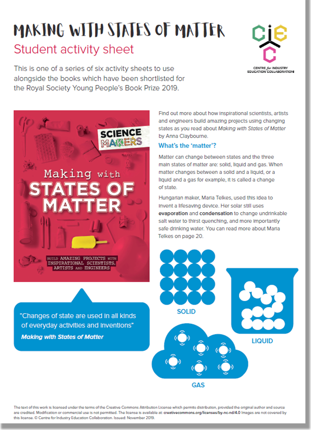 Making with States of Matter Document Picture